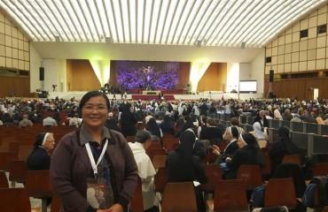 Magaret Maung Paul VI Hall Vatican