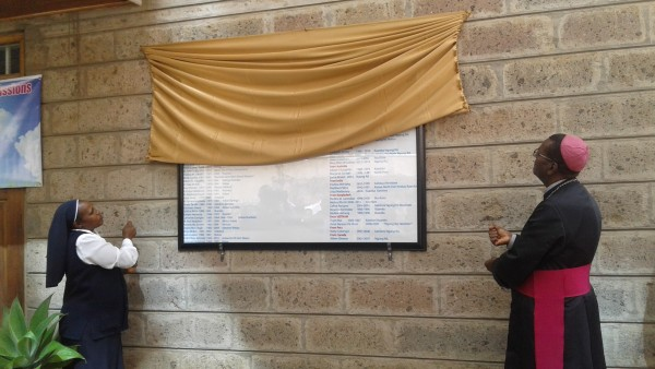 Unveiling Honour Board