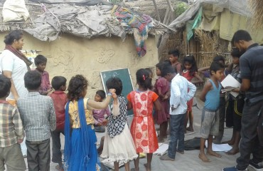 Education awareness among Dalit Community (Mushaar) inNarkatiaganj1