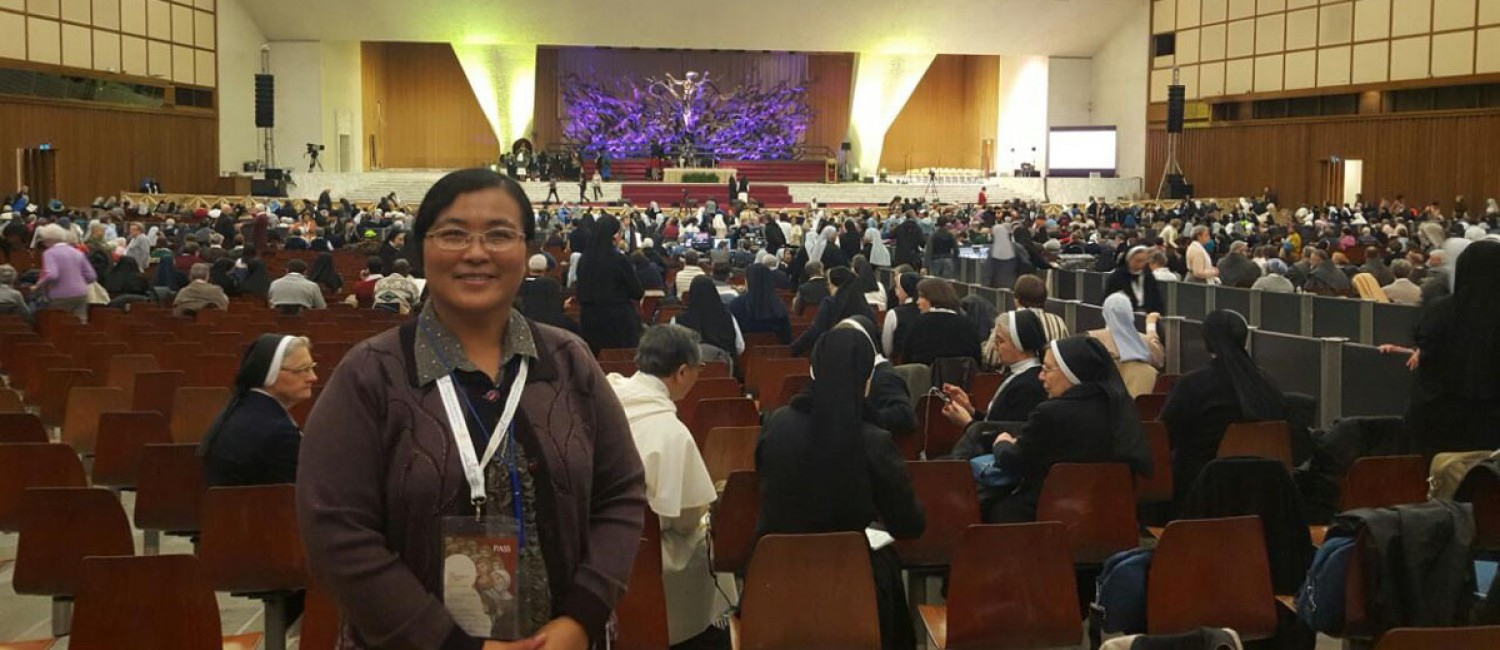 Magaret Maung Paul VI Hall Vatican