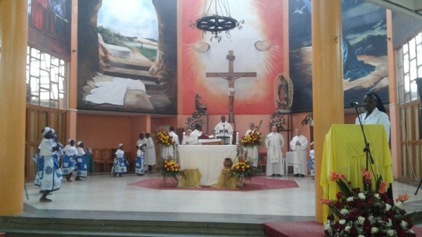 Beginning Eucharist Felista MC