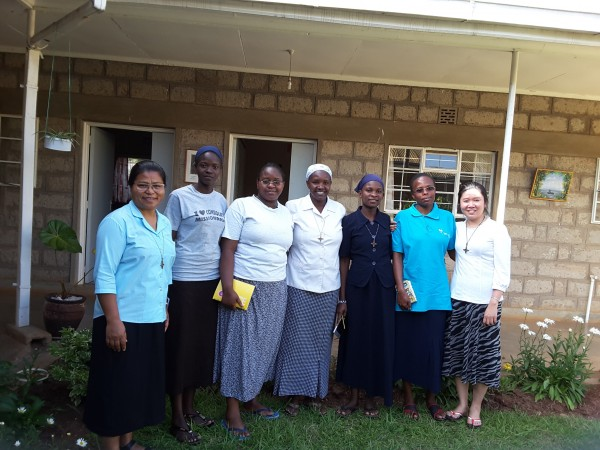 Postulants and Novices in Kenya