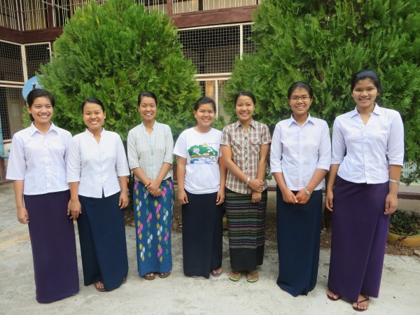 Postulants and novices in Myanmar