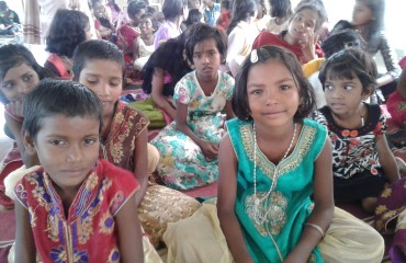 children of 3 villages gathering