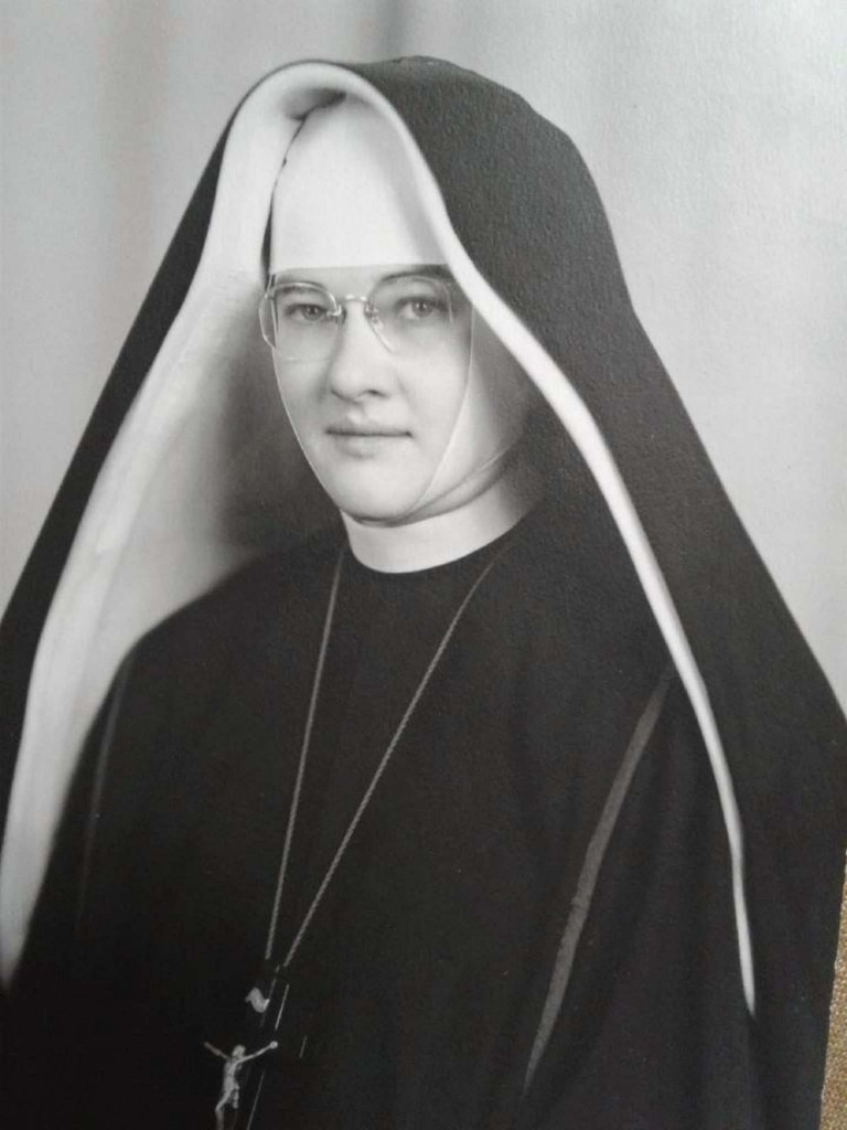 Sister Aileen Gleason at Final vows - 1952