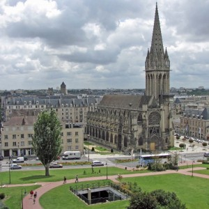 StGiles church.Caen