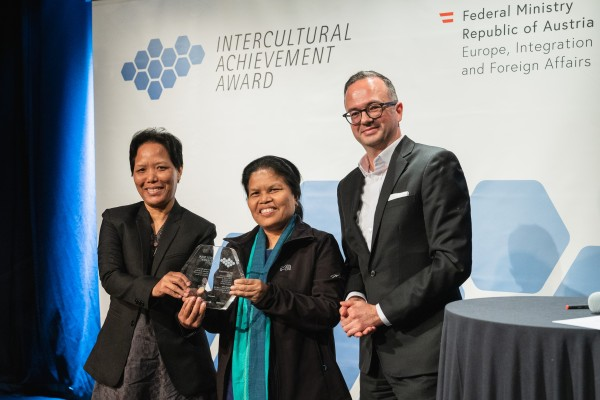 Intercultural Achievement Award 2019, Wien am 28. Oktober 2019 Copyright: BMEIA/ Eugénie Berger